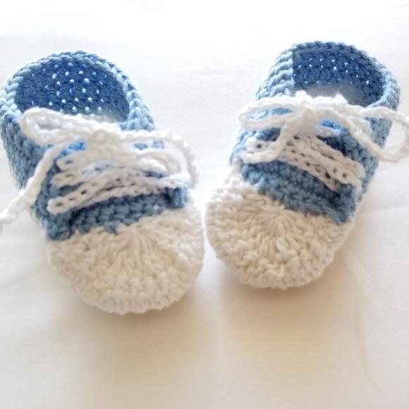 Shoes   Crochet Baby Boy Shoes   Poshmark